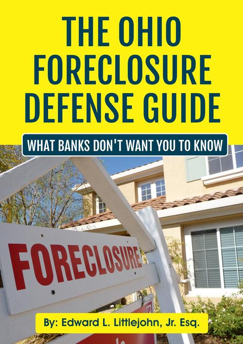 Ohio Law Firm discusses the Foreclosure Defense Secrets - the stuff that banks don't want you to know.